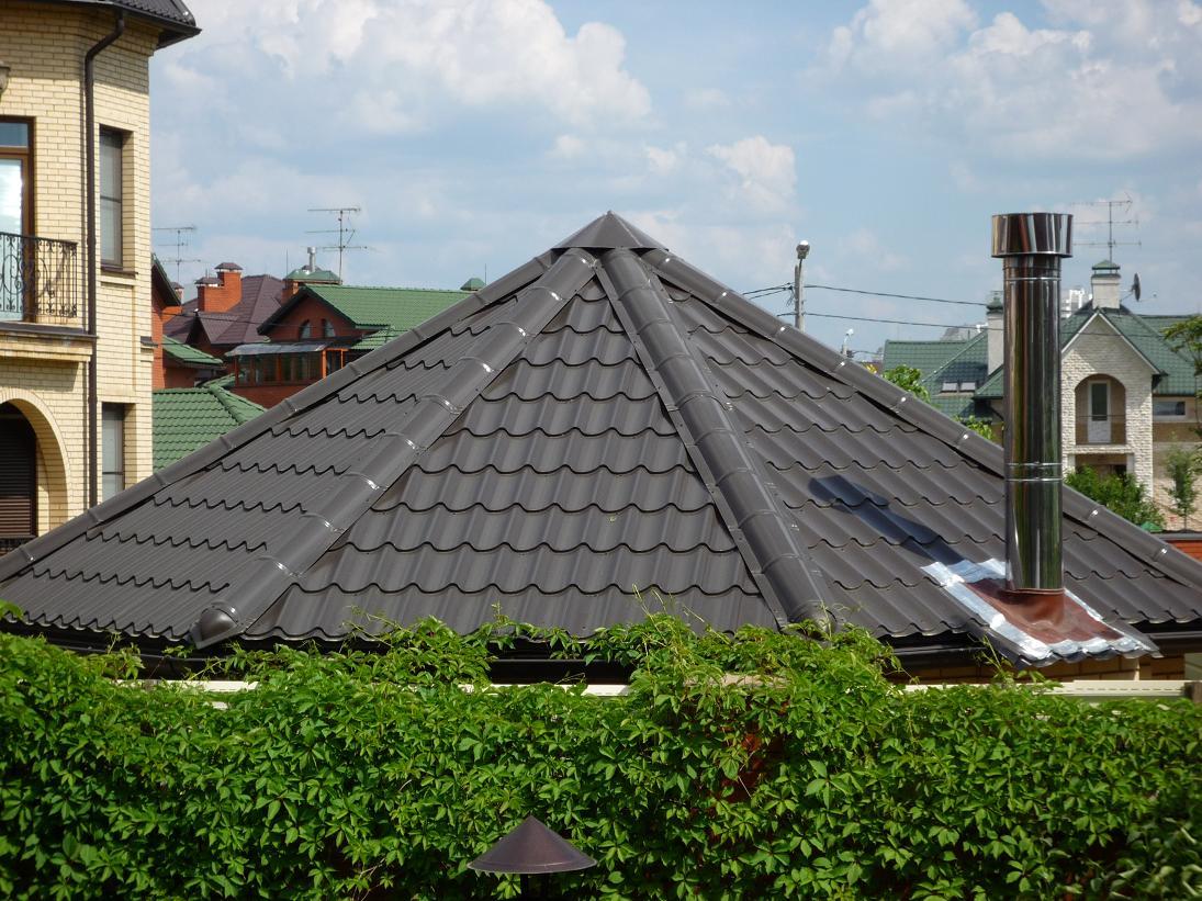 утеплиться металлочерепица на шатровую крышу термобелье, термобельё